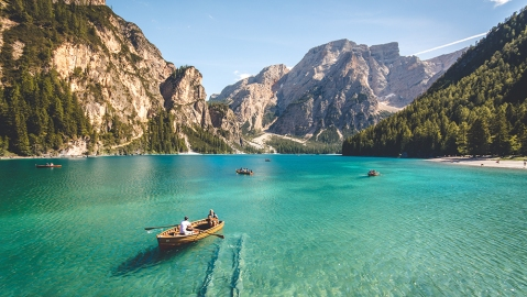 Prager Wildsee in Italy