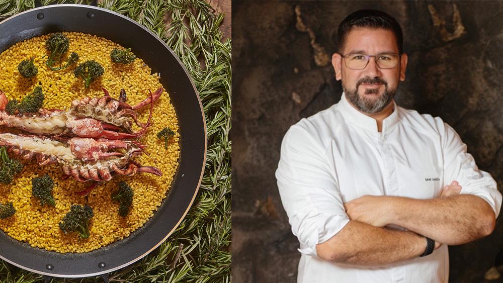 Dani Garcia Paella Cooking Class