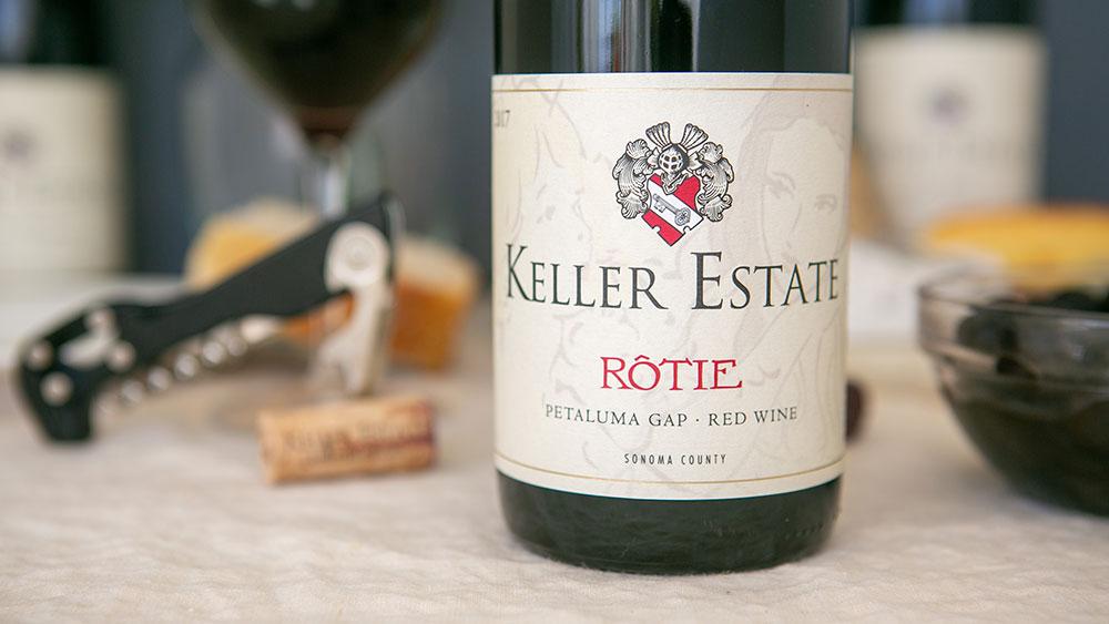 Keller Estate 2017 Rôtie Petaluma Gap, Sonoma County