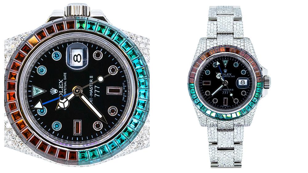 Rolex's 777 Customized Watch