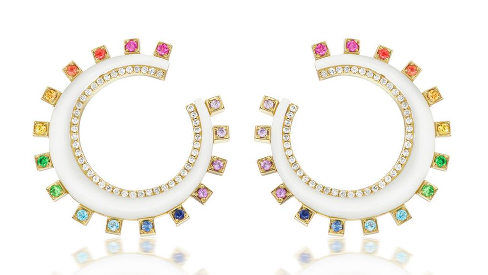 Sorellina Monroe Crescent Earrings
