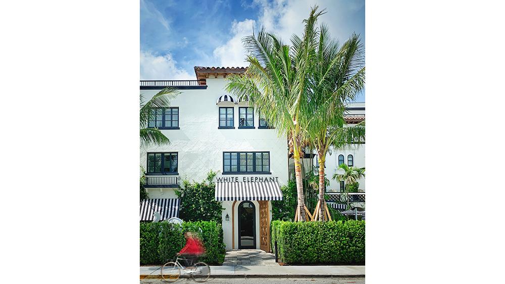 White Elephant Palm Beach Entrance