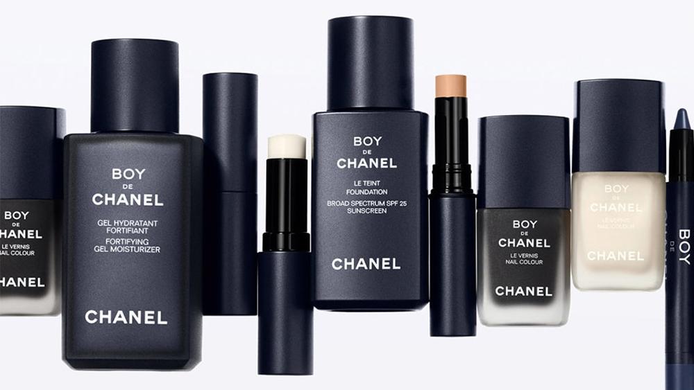 The Boy de Chanel makeup and skincare range.