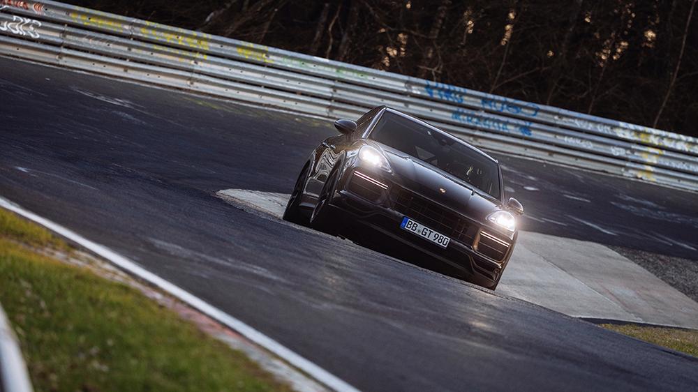 The unnamed, high-performance Porsche Cayenne