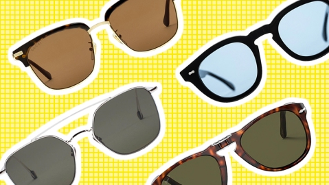 Sunglasses by Gucci, The Bespoke Dudes, Persol and Ahlem.