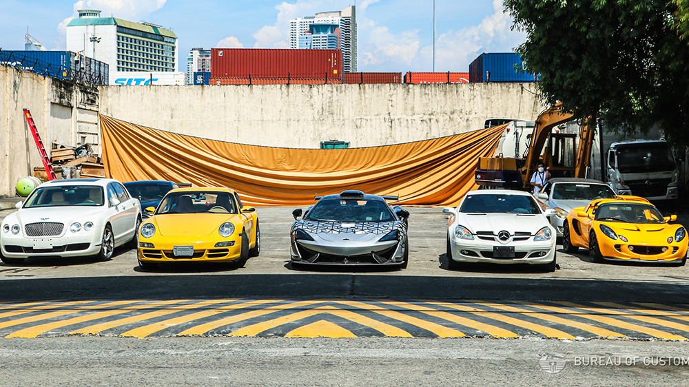 The Philippines government destoryed $1.2 million worth of cars