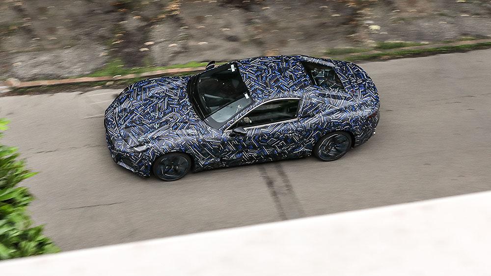 The next-generation Maserati GranTurismo prototype