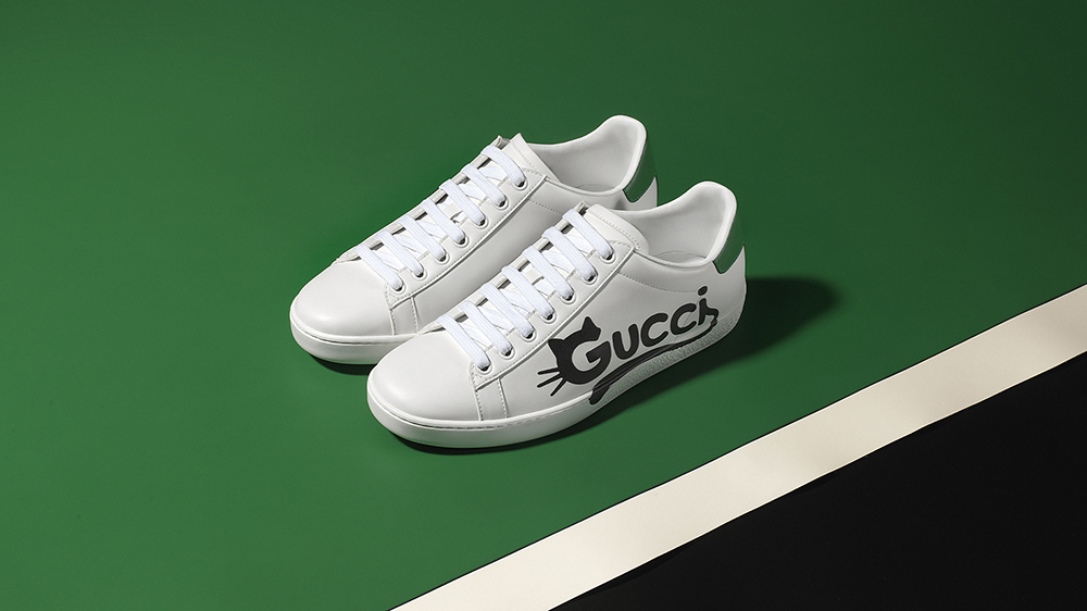 Gucci New Ace made of Demetera