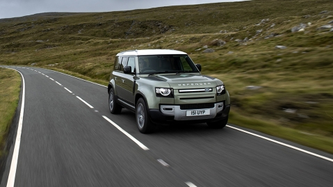 Jaguar Land Rover will start testing a hydrogen-powered Defender later this year