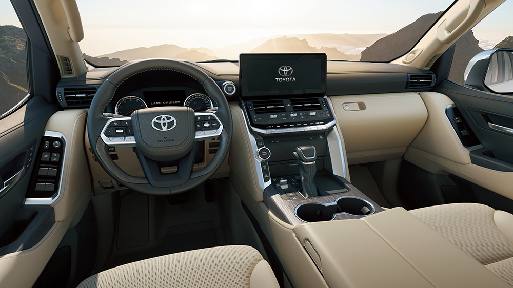 2022 Toyota Land Cruiser J300