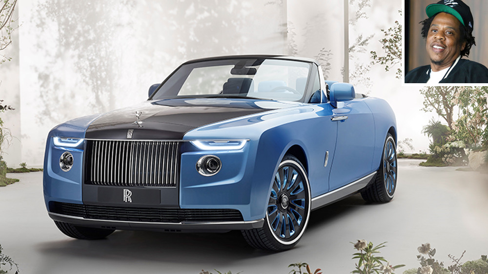 Jay-Z and the Rolls-Royce Boat Tail