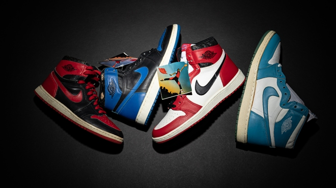 """Stadium Goods and Christie's """"Original Air Takes Flight: The Evolution and Influence of Air Jordan Sneakers"""" sale"""