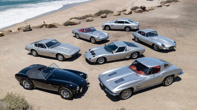 """Neil Peart's """"Silver Surfers"""" car collection"""