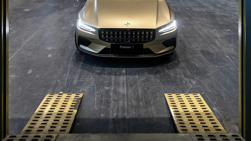 You can now buy a Polestar 1 with art
