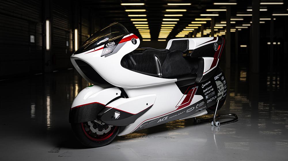 The White Motorcycle Concepts WMC250EV