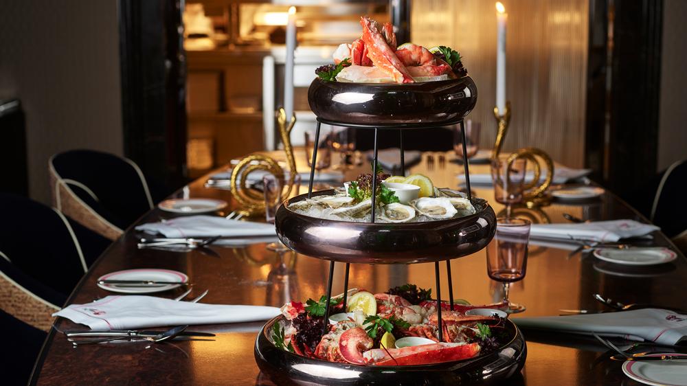 seafood tower delilah las vegas