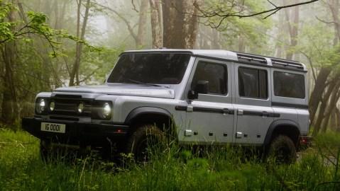 INEOS Automotive's new Defender-inspired Grenadier.
