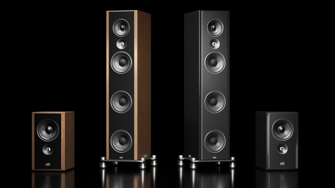 PSB's Synchrony B600 and T600 loudspeakers.