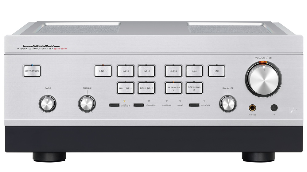 Luxman's L-595A Special Edition Integrated Amp Reimagines a Coveted Classic