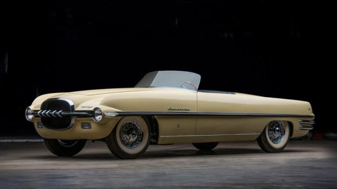 The 1954 Dodge Firearrow II concept car.
