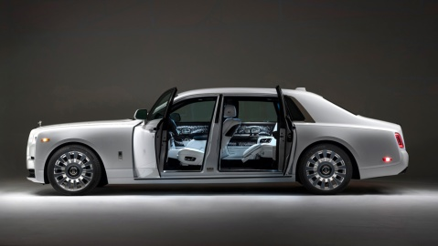 The Rolls-Royce Phantom Tempus.