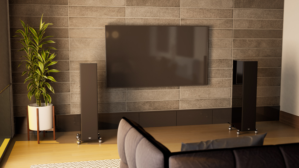 The PSB Synchrony T600 speakers.