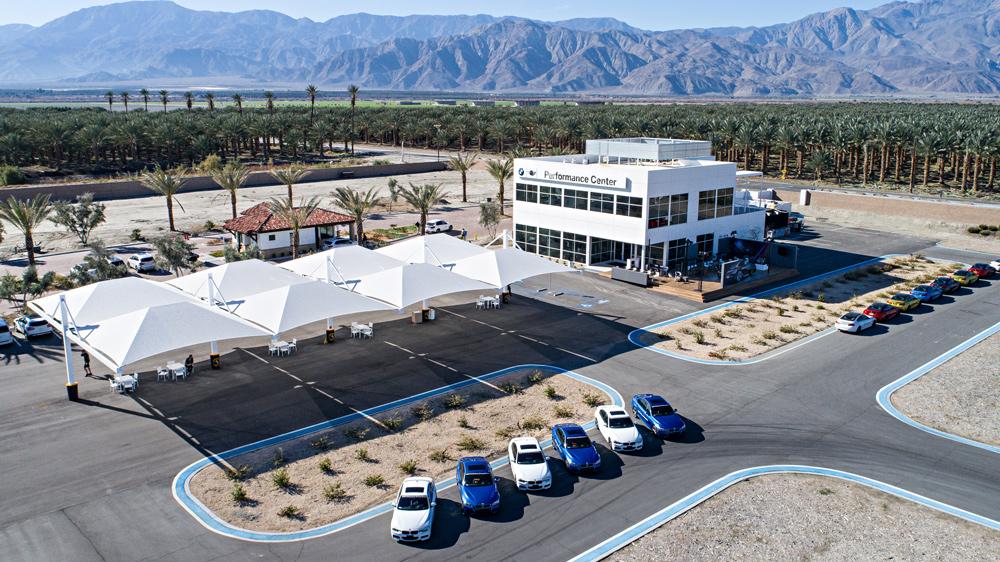BMW's Performance Center West.
