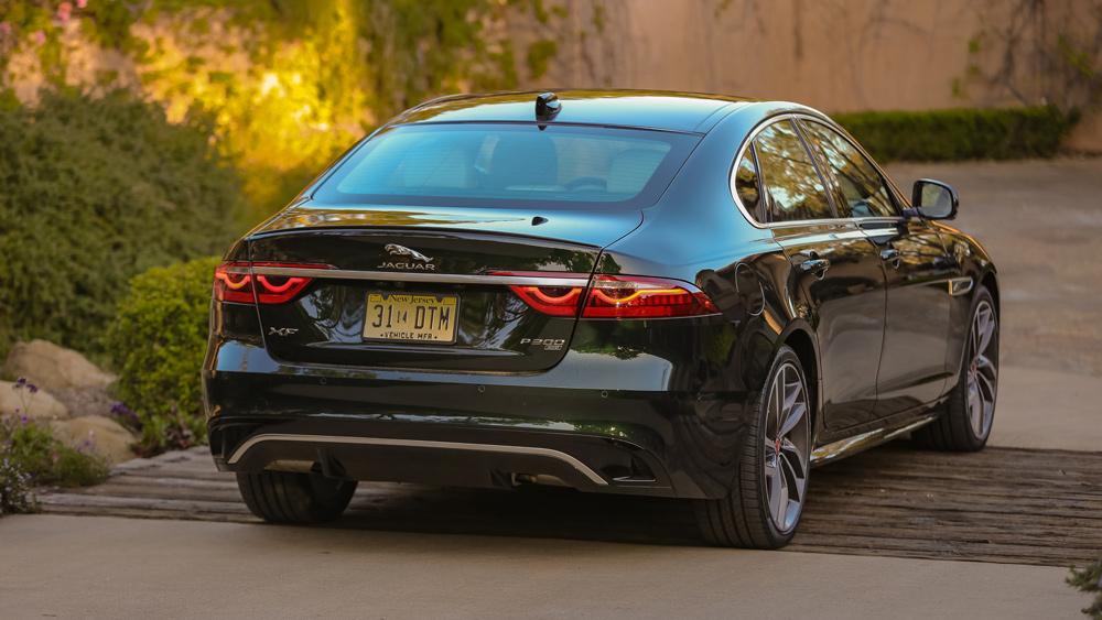 The 2021 Jaguar XF sedan.