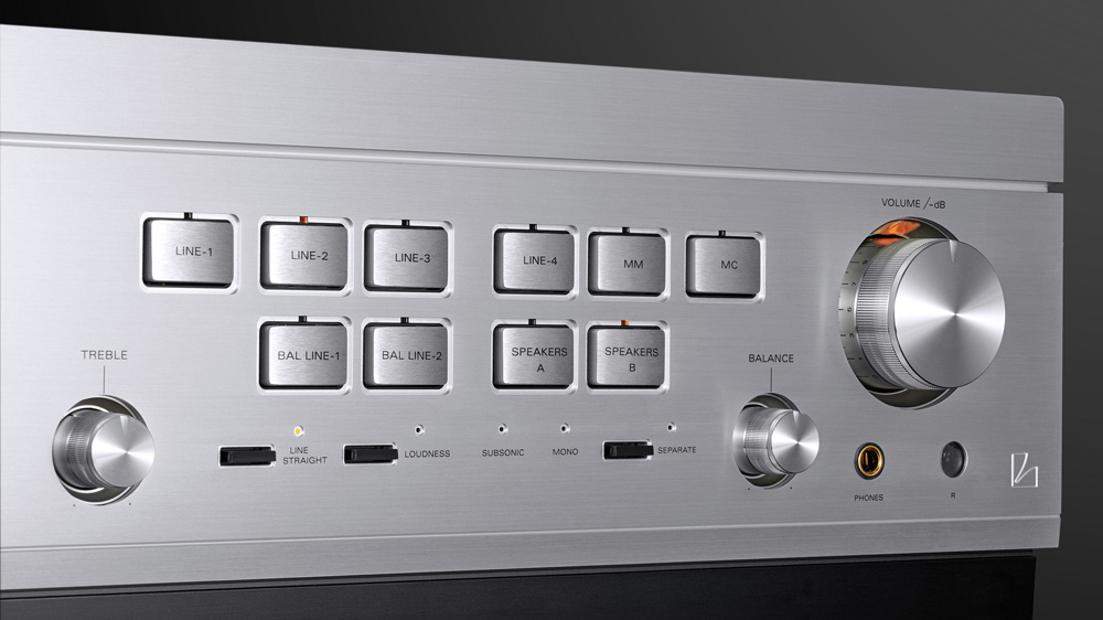 Luxman's L-595A Special Edition Integrated Amplifier.
