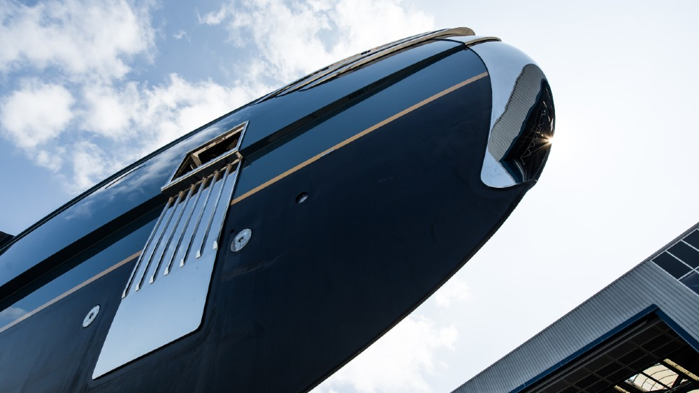 PHI is a 192-foot motoryacht just released from Royal Huisman