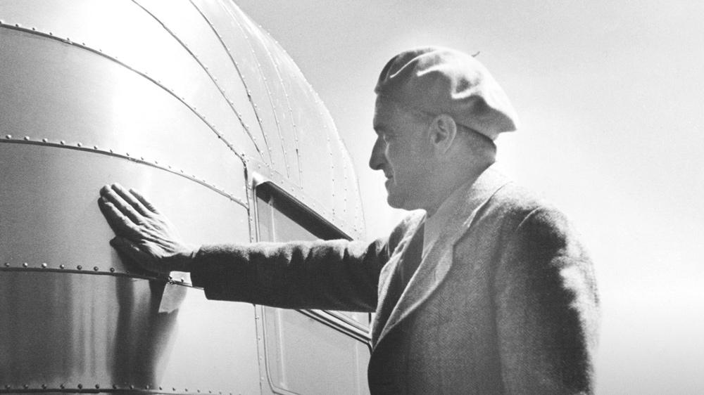 Wally Byam, founder of Airstream.