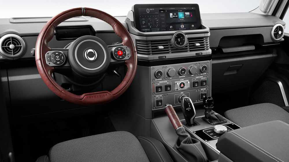Inside INEOS Automotive's new Defender-inspired Grenadier.