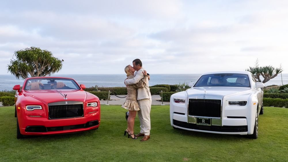 Glenn and Gigi Moss celebrate their 40th anniversary with his-and-hers Rolls-Royce commissions.