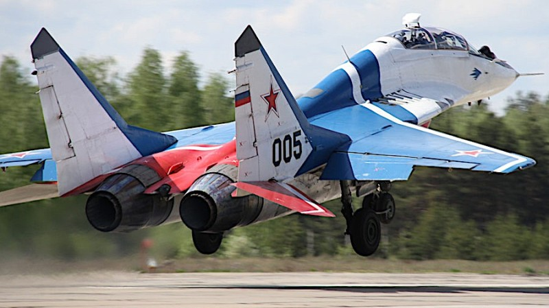 This MiG fighter jet can be tested during a flight over Russia by MiG Flug.