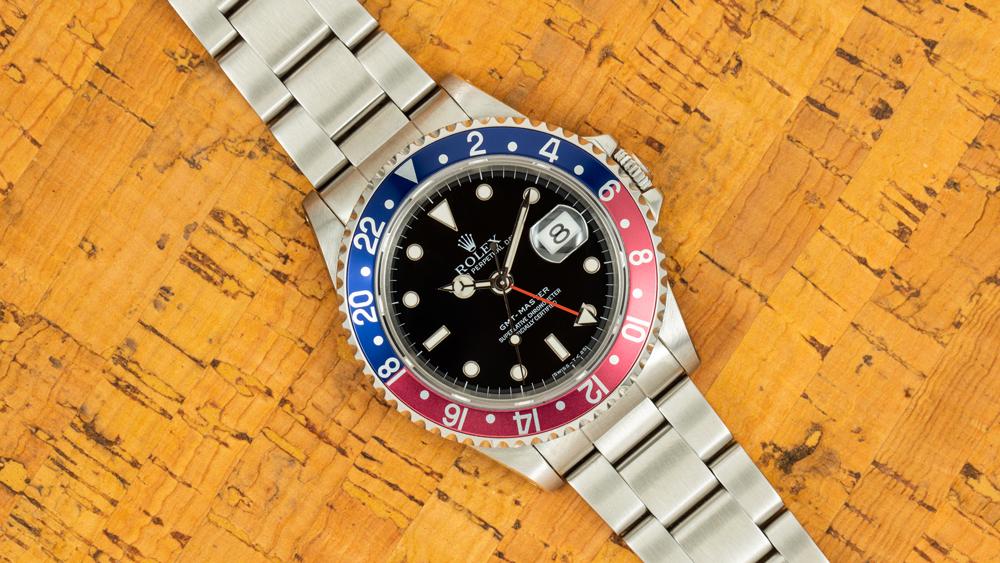 """Rolex GMT-Master """"Pepsi"""" Ref. 16700"""