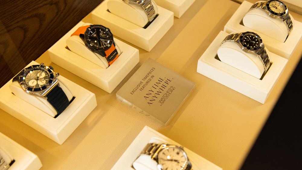Watches of Switzerland's Hamptons Pop-Up