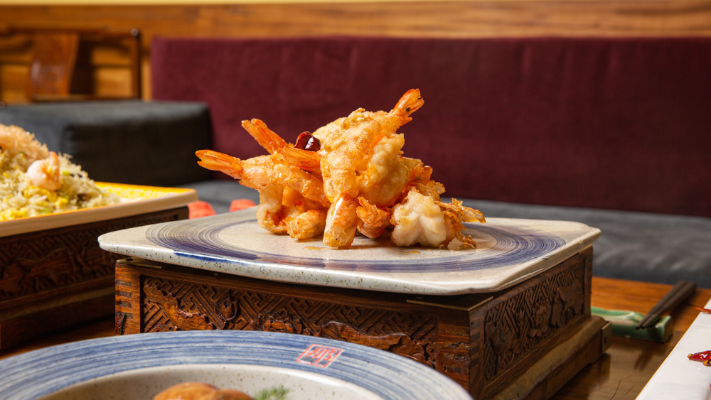 Crispy shrimp bistro na's