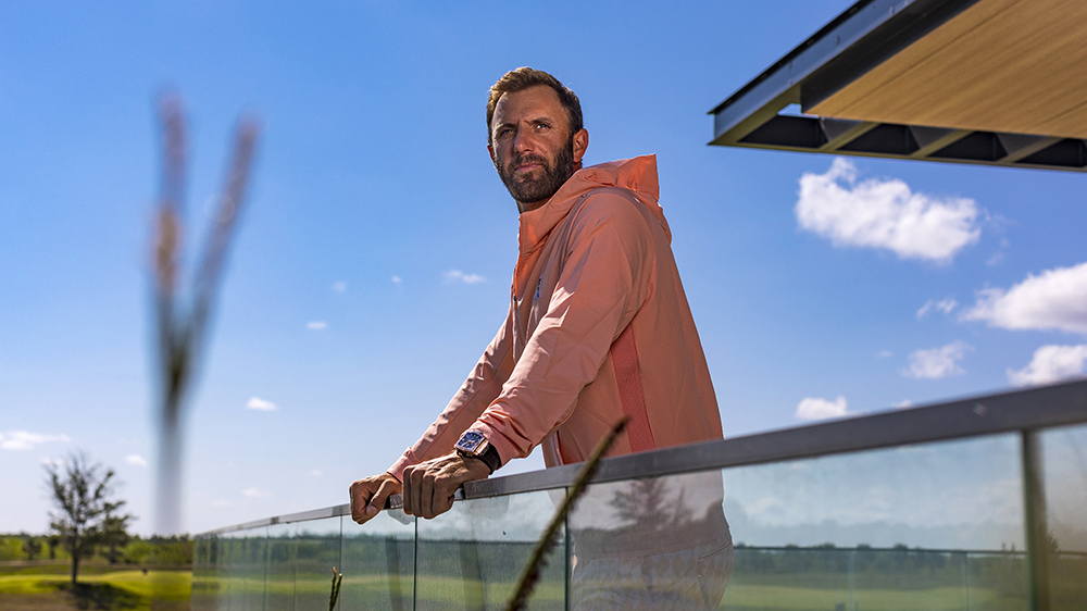 Golf Champion Dustin Johnson on Discovering Calm, Hublot Watches and Snagging the Aisle Seat