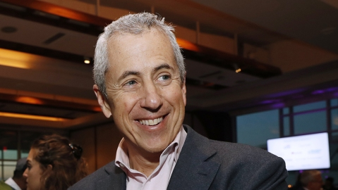 Union Square Hospitality Group and restaurateur Danny Meyer is shown, Tuesday, Feb. 27, 2018, at the annuaal C-CAP (Careers through Culinary Arts Program) benefit in New York. Union Square Cafe, Gramercy Tavern, The Modern and Shake Shack are among the many restaurants in the group. (AP Photo/Kathy Willens)