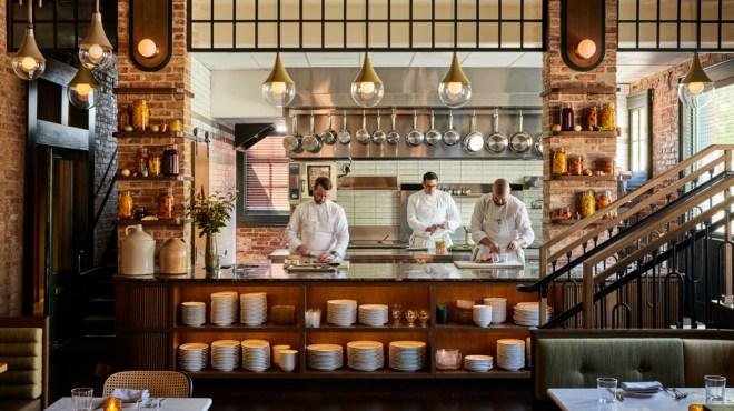 Harvey House open Kitchen