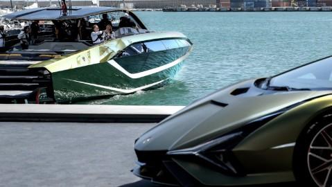 The Tecnomar for Lamborghini 63 has many traits from the supercar brand.