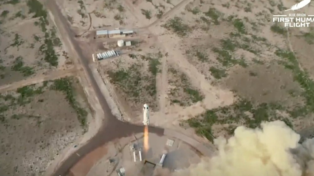 Blue Origin initial launch