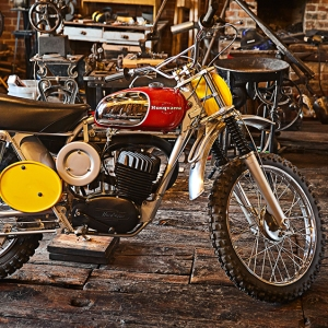 Steve McQueen 1968 Husqvarna Viking 360