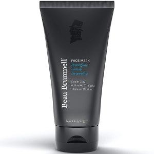 Charcoal face mask for men