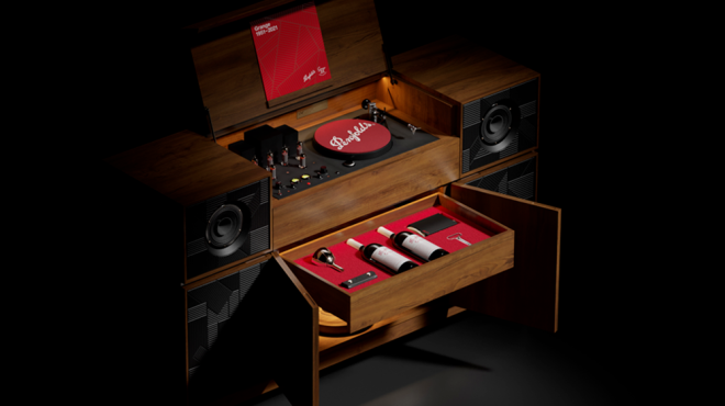 Penfolds Record Player Console13