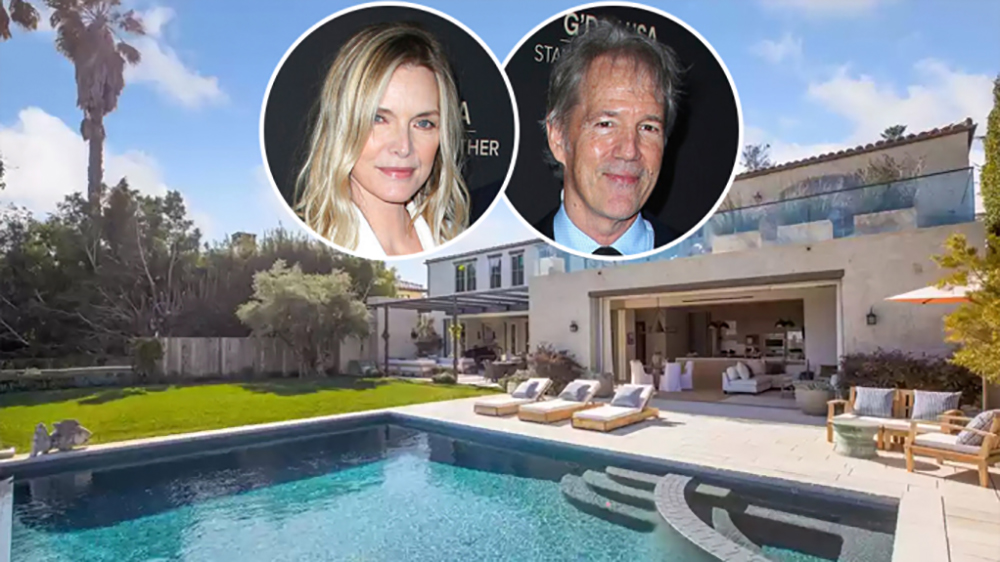 Michelle Pfeiffer and David Kelly Mansion