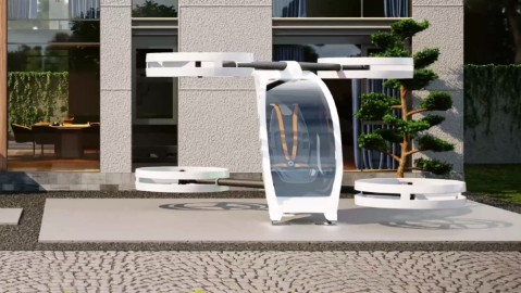 The iFly is a personal eVTOL that is designed to be used for one person rather than as an air taxi.