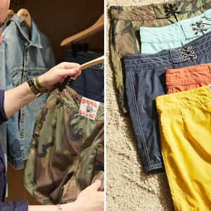 Todd Snyder and Birdwell Board Shorts