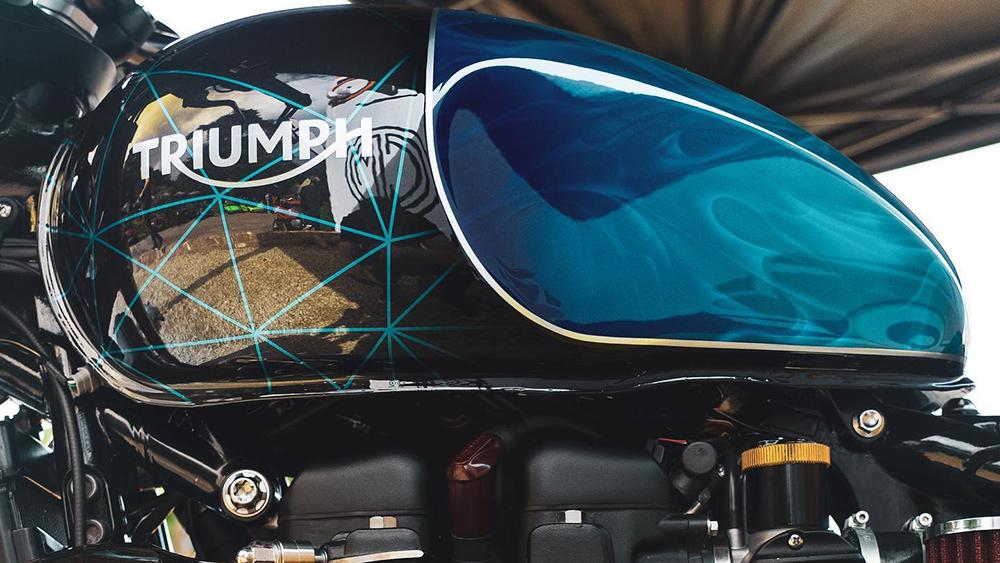 Thornton Hundred Triumph Bonneville Bobber