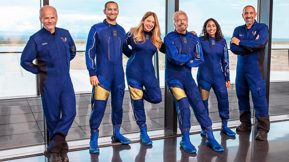 Virgin Galactic's Unity 22 Crew